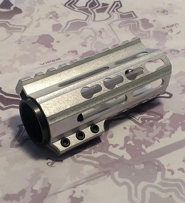 D-Cut 4-inch Free Float Key Mod Handguard