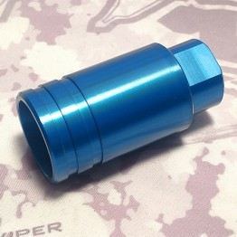 1/2 x 28 Lightweight Compression Muzzle Brake- BLUE